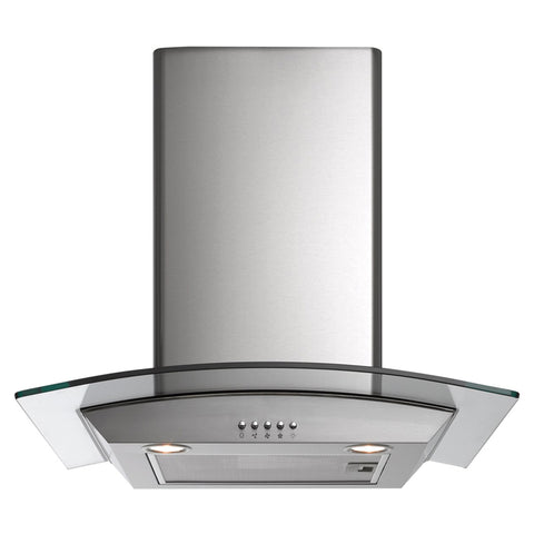 Arc AAG6SE1 60cm Curved Glass Canopy Rangehood