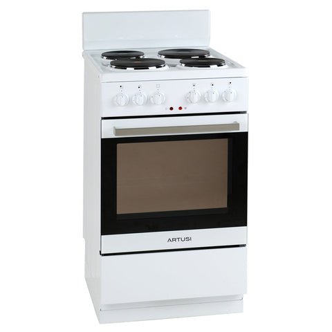 Artusi AFE504W 50cm Freestanding Electric Oven/Stove