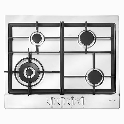 Artusi AGH64X 60cm Natural Gas Cooktop