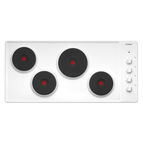 Chef 90cm EHC917W Cooktop - Electric