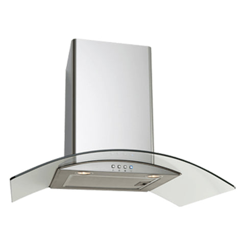 Euro Appliances EAGL700S 70cm Glass Canopy Rangehood
