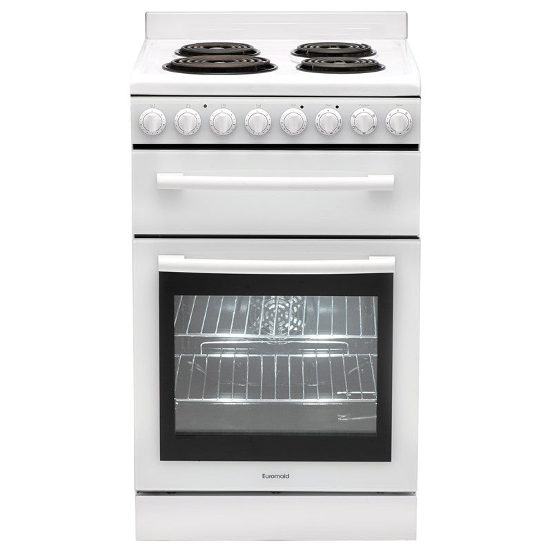 Euromaid F54RW Freestanding Electric Oven/Stove - 54cm