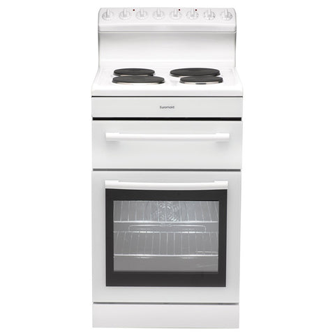 Euromaid R54EW Freestanding Electric Oven/Stove - 54cm