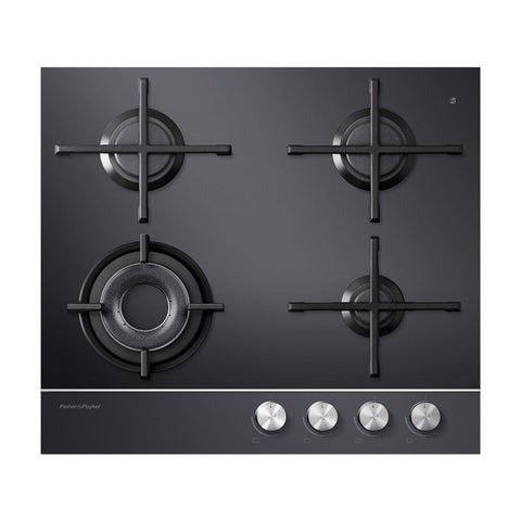 Fisher & Paykel CG604DNGGB1 60cm Gas on Glass Cooktop