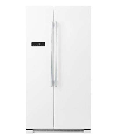 Haier HSBS628AW 629L Side by Side Fridge