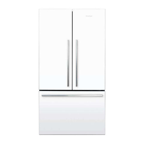 Fisher & Paykel RF610ADW5 614L White French Door Fridge