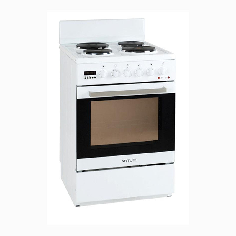 Artusi AFE547W 54cm Freestanding Electric Cooker