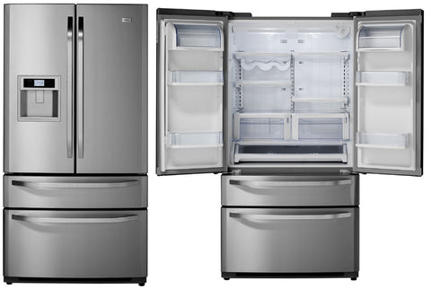 Haier HFD647WISS 647L French Door Fridge with Water and Ice