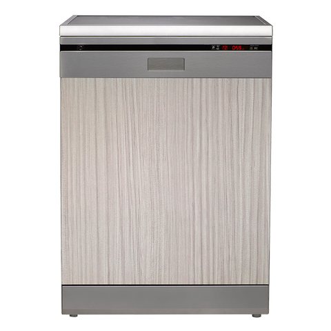Euromaid Semi Integrated Freestanding Dishwasher SI14BM - 60cm