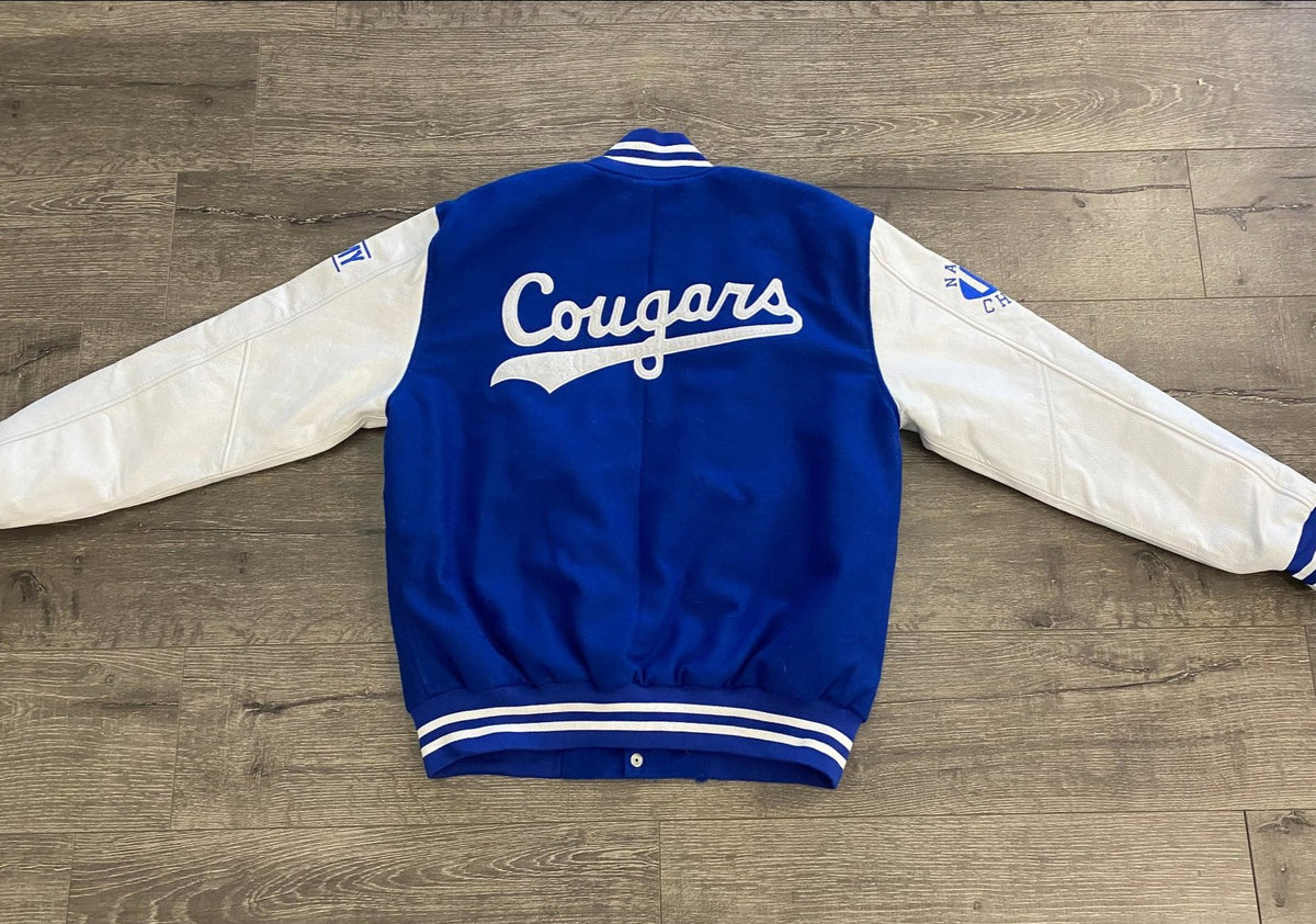 2021 Limited Edition Royal Army BYU Letterman Jacket