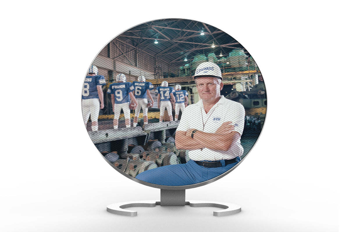 Custom Bluetooth Speaker with Iconic BYU Photos