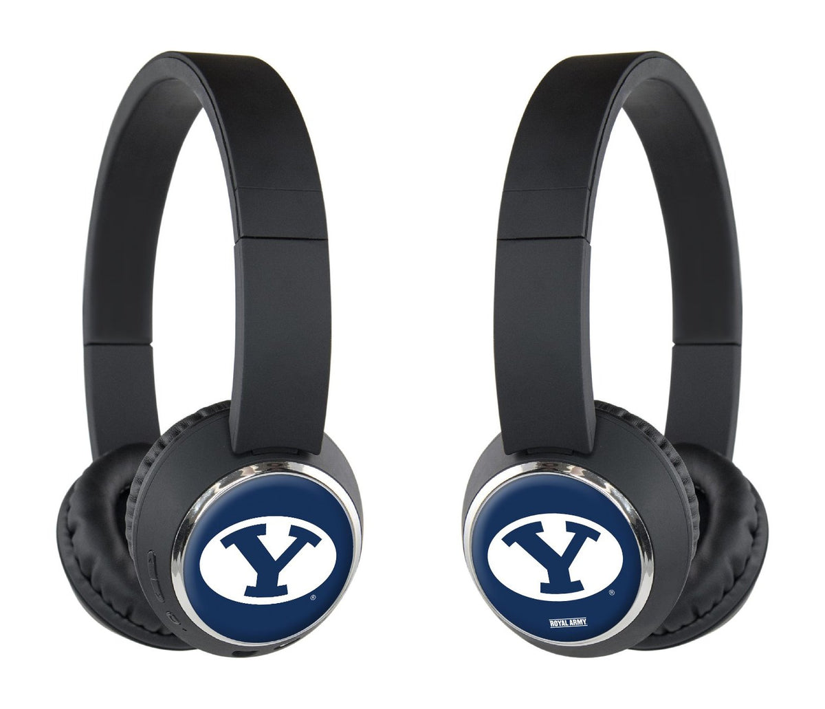 Royal Army Bluetooth Headphones with Custom BYU Designs