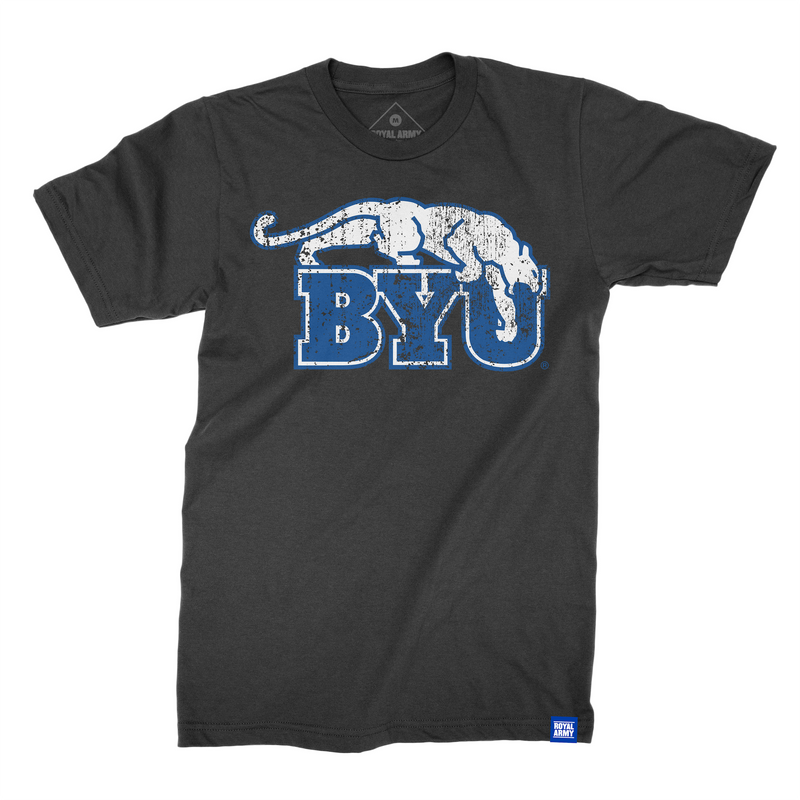 Distressed Beet Digger BYU T-Shirt
