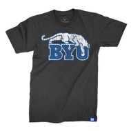 Distressed Beet Digger BYU T-Shirt - The Royal Collection