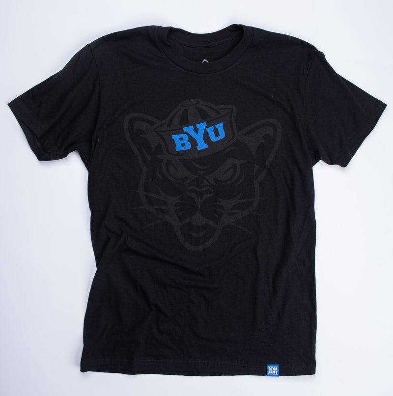 Blackout BYU Sailor Cougar T-Shirt