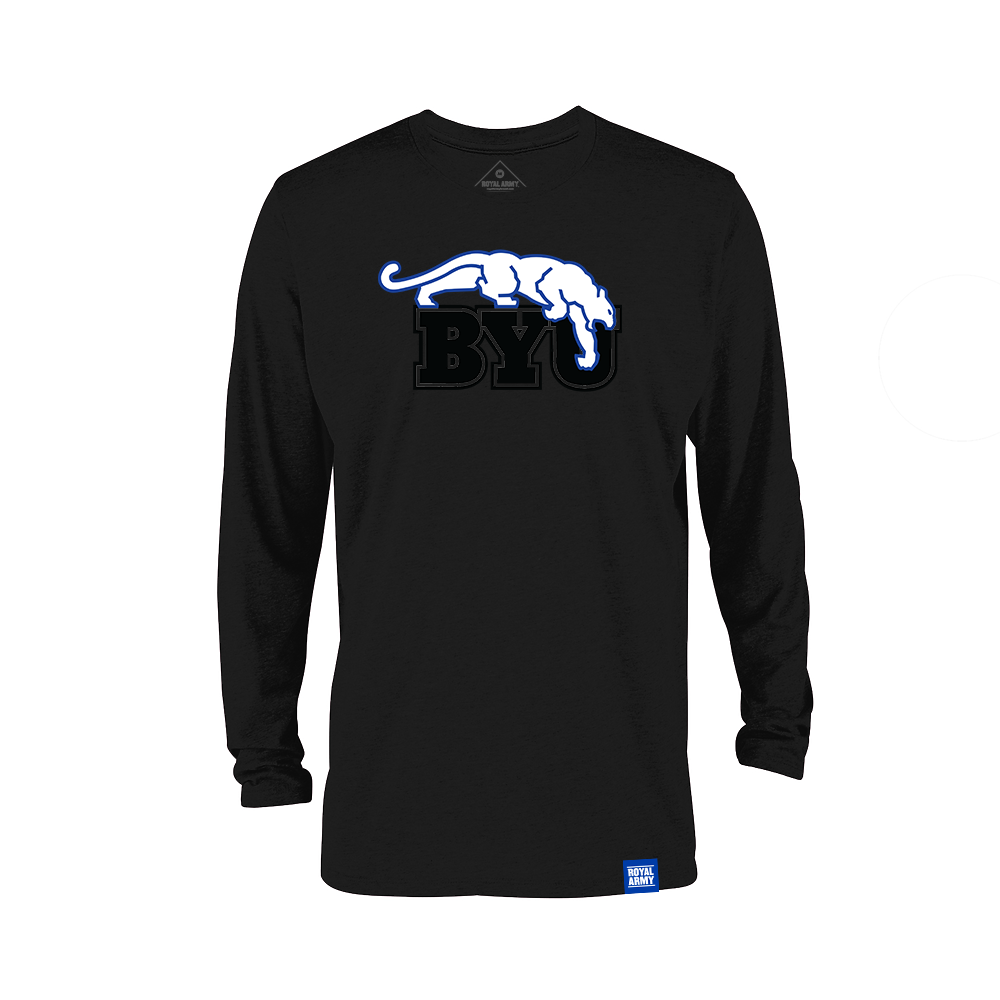 Long Sleeve Blackout BYU Beet Digger