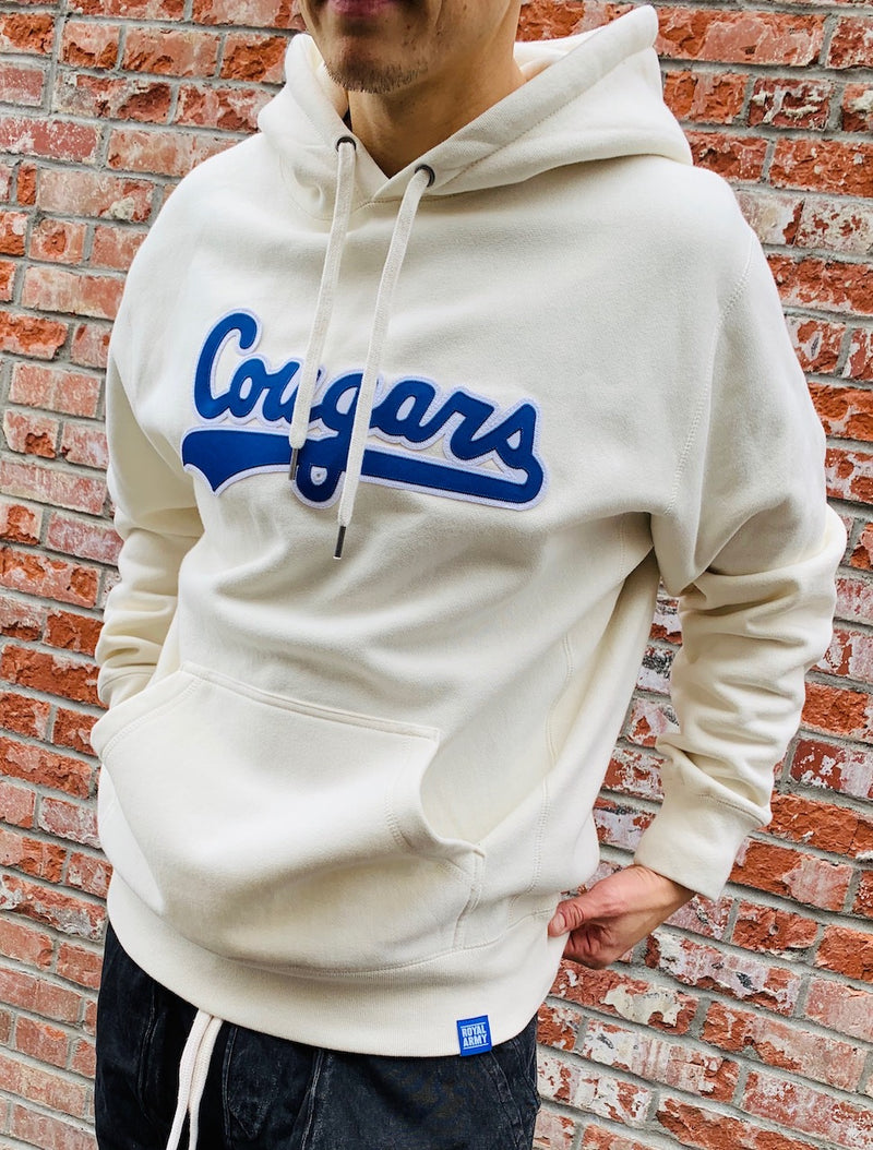 Heavyweight Fleece with Vintage Cougar Script Patch