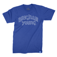 Vintage Brigham Young Script T-Shirt - The Royal Collection