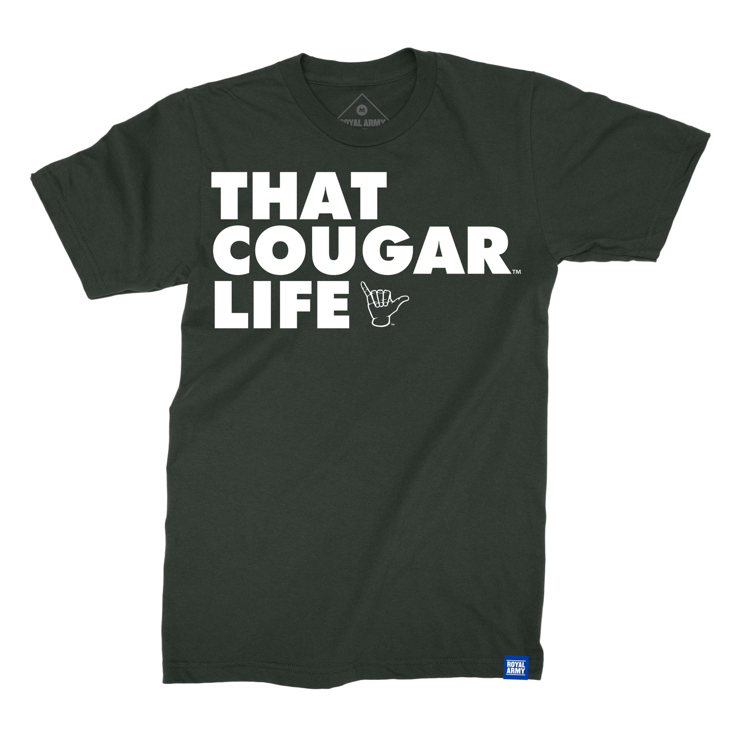 That Cougar Life BYU T-Shirt - Charcoal