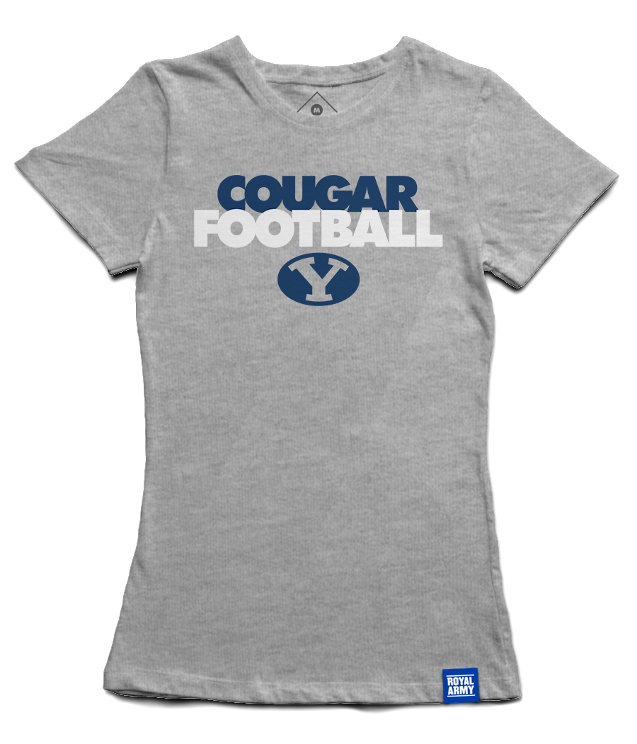 Women's Cougar Football T-Shirt