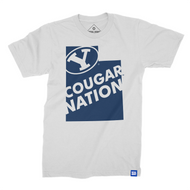 Utah is Cougar Nation BYU T-shirt