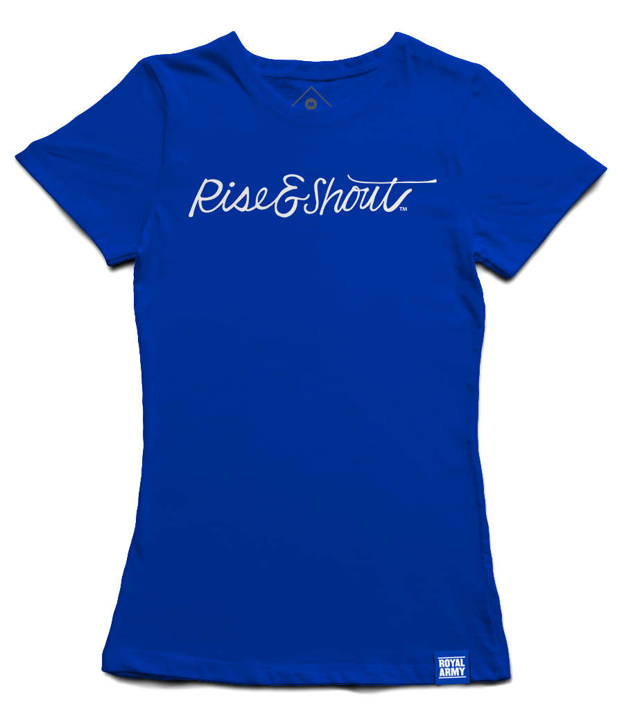 Women's Rise & Shout BYU T-Shirt