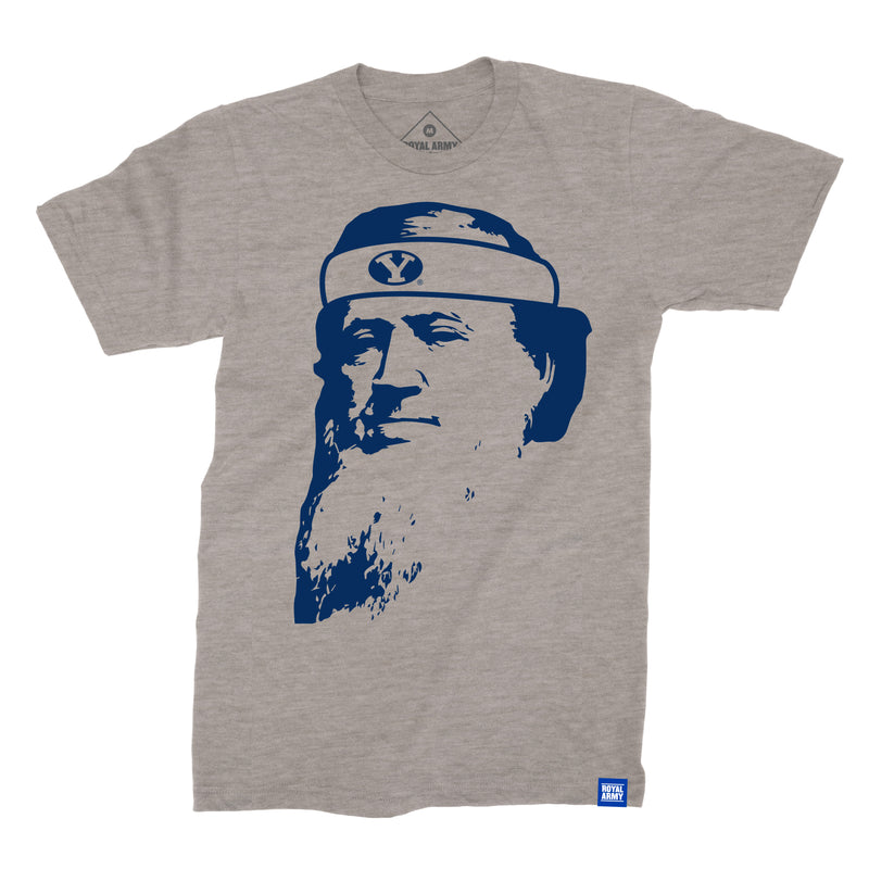 Headband Brigham Gray with Royal T-Shirt