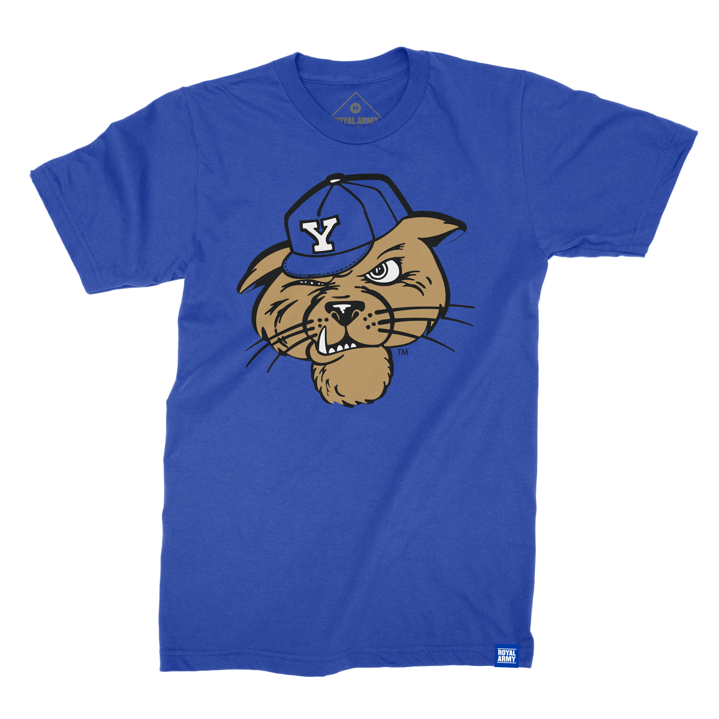 Kids Vintage Cougar BYU T-Shirt - The Royal Collection