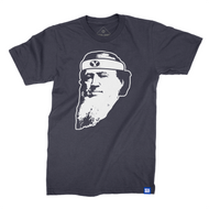 Headband Brigham T-Shirt - Navy and White