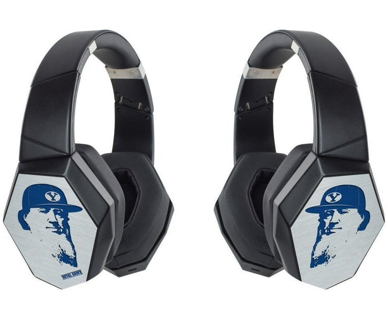 Royal Army Noise Canceling Bluetooth Headphones with Custom BYU Designs