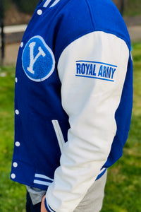 Limited Edition BYU Letterman Jacket - Royal and White