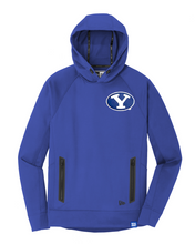 Royal Army - New Era Hoodie with Custom BYU Patch - Royal