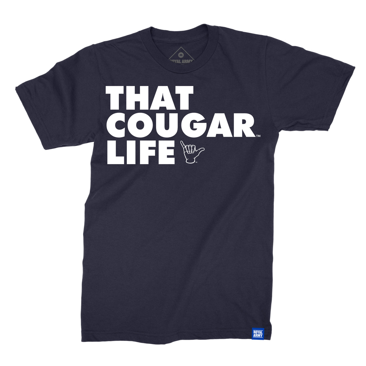 That Cougar Life Navy BYU T-Shirt
