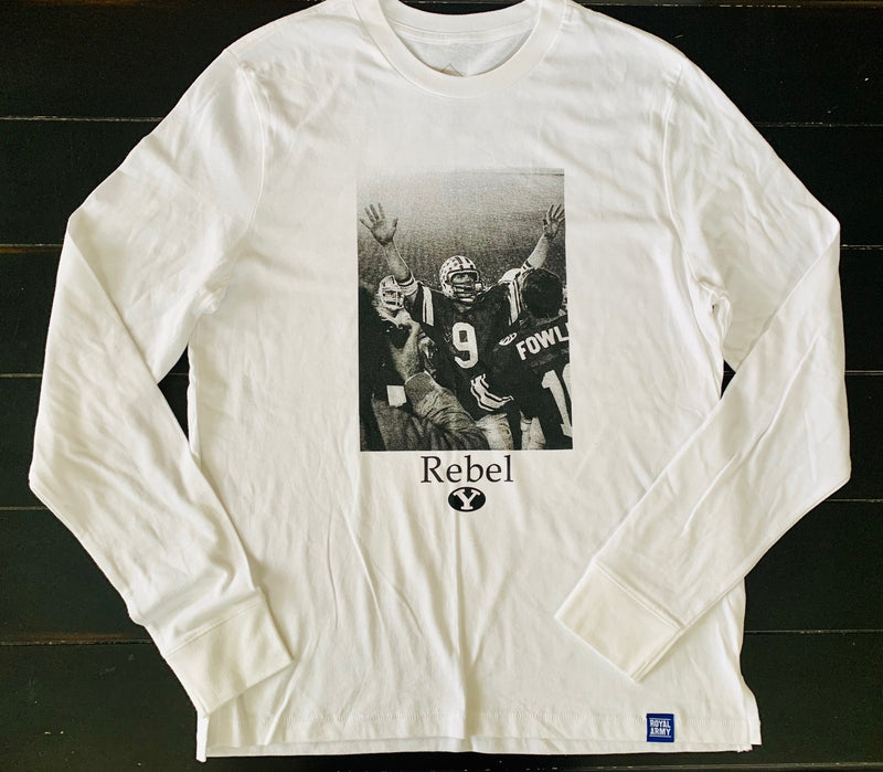 Rebel BYU Photo Long-Sleeve T-Shirt