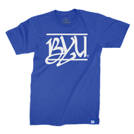 BYU Throwback Script T-Shirt