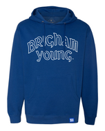 Vintage Brigham Young Script Hoodie - The Royal Collection