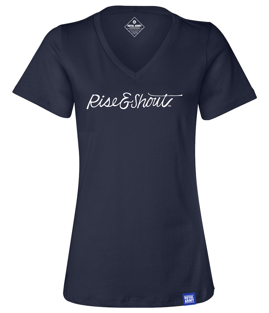 Women's Rise & Shout V-Neck T-Shirt