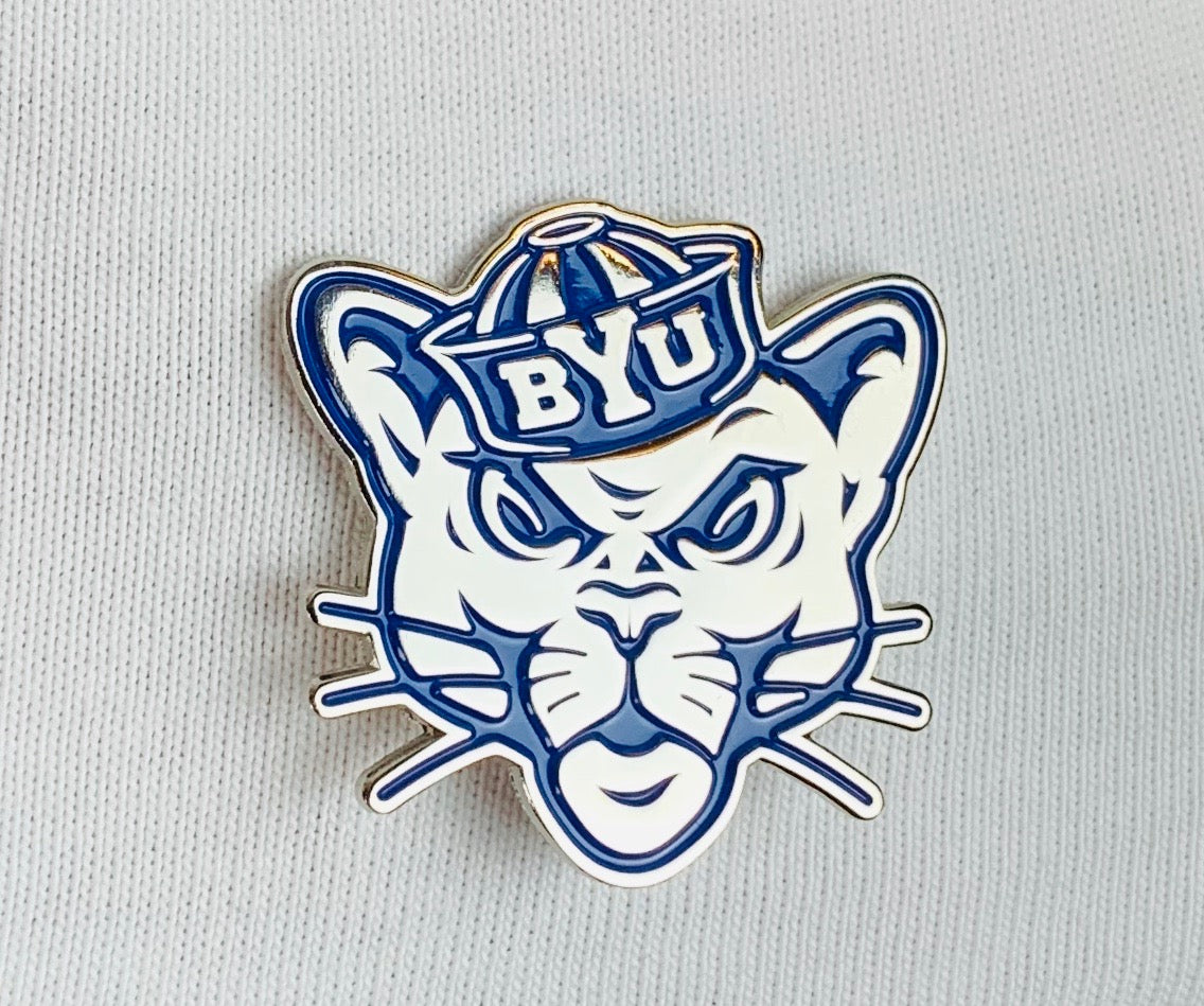 BYU Sailor Cougar Collector's Pin