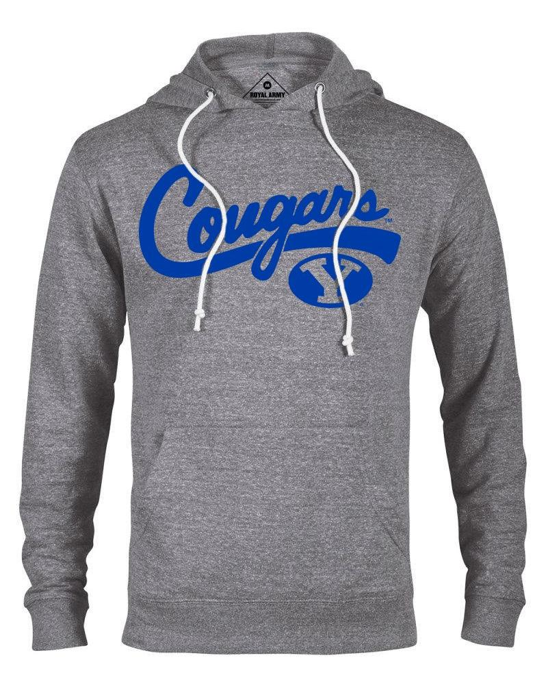 Cougars Script Lightweight French Terry Hoodie