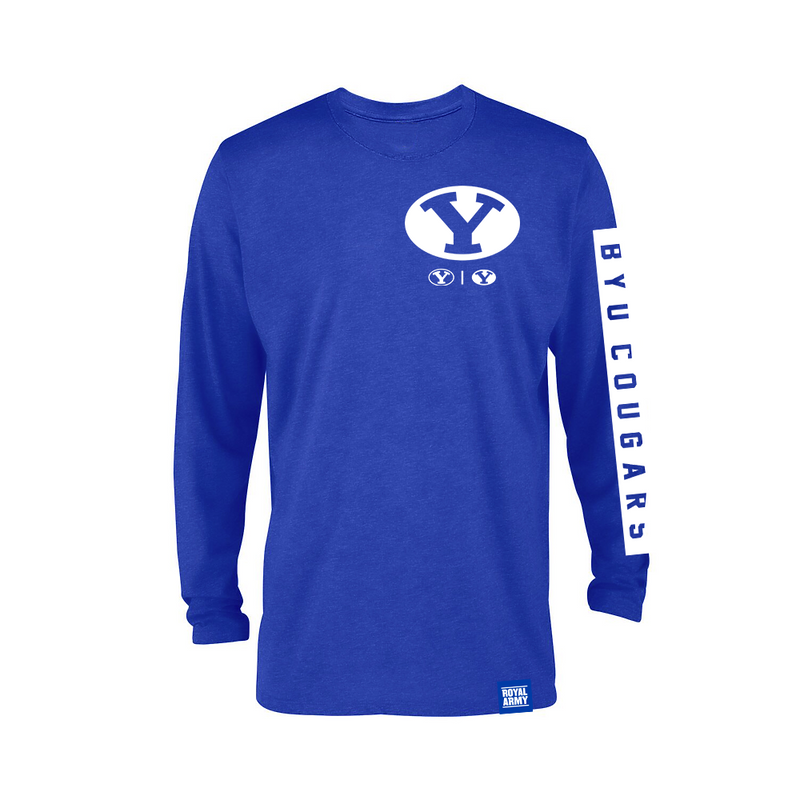 Triple Y Royal Long-Sleeve BYU Cougars T-Shirt