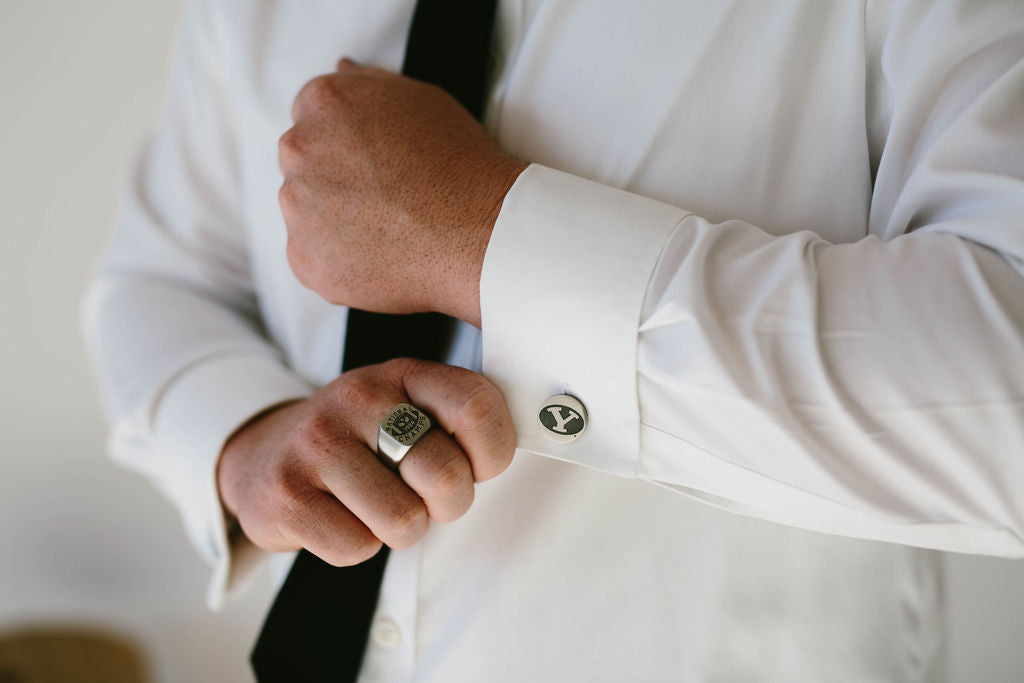 BYU Stretch Y Cufflinks