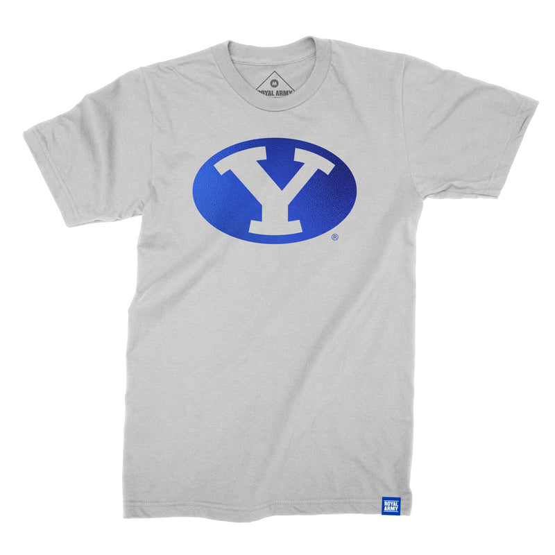 Foil Stretch Y BYU T-Shirt