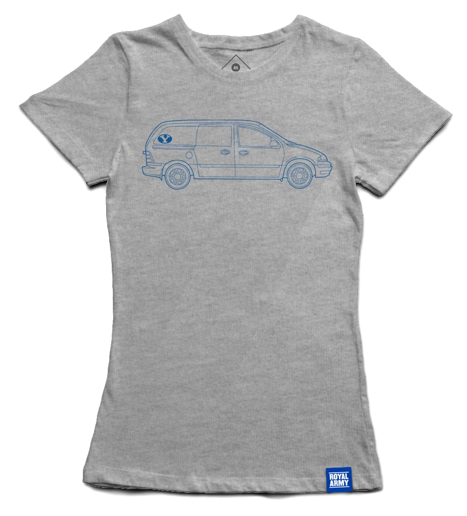 Women's Royal Army Minivan BYU T-Shirt