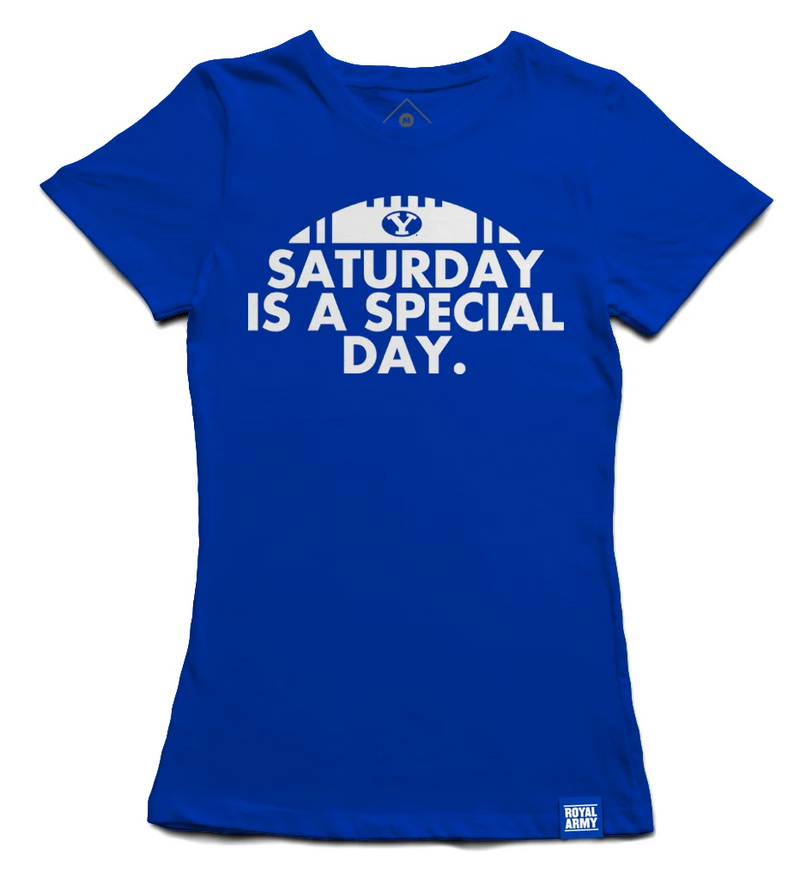 Women's Saturday is a Special Day BYU T-Shirt
