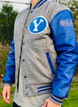 Limited Edition BYU Letterman Jacket - Gray and Royal