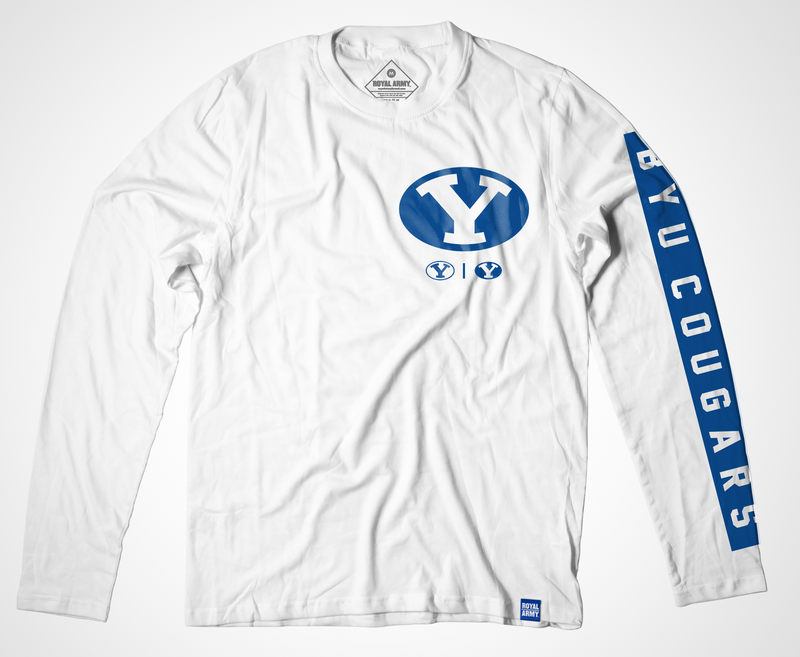 Triple Y Long-Sleeve BYU Cougars T-Shirt