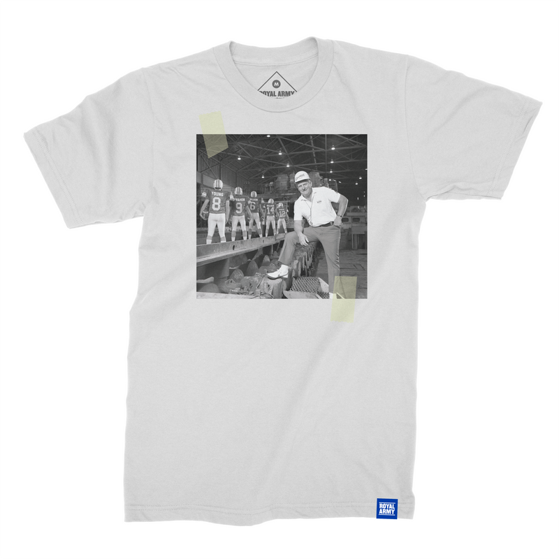 Lavell Edwards QB Factory Photo T-Shirt
