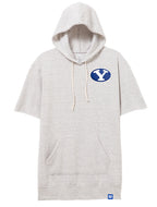 Oatmeal BYU Baller Hoodie with Custom Patch