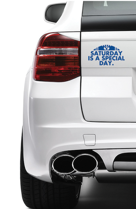 Saturday is a Special Day Vinyl Decal