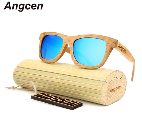 Wood Retro Vintage Sunglasses - VARIOUS COLOURS